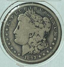 1893 O Very Good VG Morgan US Silver Dollar $1