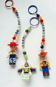 Personalised Toy Story 4 keyring / bag charm (you chose the name ), 3 designs
