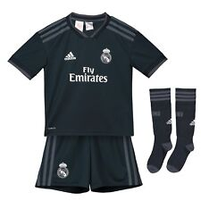 5acdf22adc7977 Kids 5-6 adidas Real Madrid Away Mini Kit 2018-19 Bale 11 Printing
