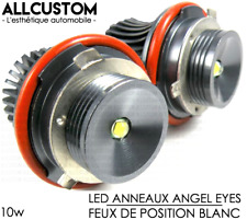 AMPOULE LED FEU POSITION ANGEL EYES BLANC 10W pour BMW SERIE 5 E60 E61 LCI 07-10