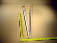 2 x 5 ml Messpipette mit Schellbachstreifen die ganze Pipette ist aus Glas