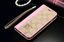 Coach Wallet Case fits IPhone 7 Plus or 8 Plus with Dust Bag - Light Pink
