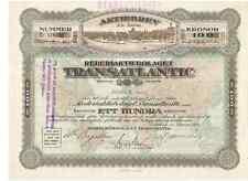Rederiaktiebolaget Transatlantic 1919 Göteborg