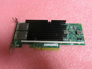 Intel X540-T2 49Y7972 Ethernet Network Adapter 10GB Dual Port Low Profile