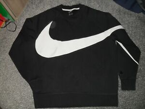 "UNISEX BLACK ""NIKE"" SWEATSHIRT SIZE XL UK"