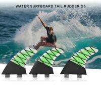 G3 3x G1 G7 Surfing Tri Fins Thruster Fin Ersatz für Surfboard Longboard
