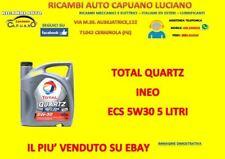 OLIO MOTORE/AUTO TOTAL QUARTZ INEO ECS 5W30 5 LITRI ACEA C2 B71 2290 CITROEN