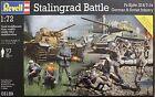 Revell Models 1/72 Stalingrad Battle Diorama Base (PzKpfw.III &T-34 w/Infantry)