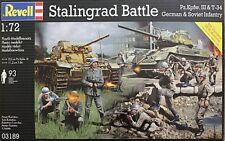 Revell Models 1/72 Stalingrad Battle Diorama Base (PzKpfw.III &T-34 w/Infantry)