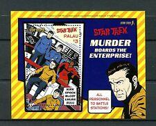 Palau 2016 MNH Star Trek 50th Anniv 1v S/S Kirk Spock Stamps
