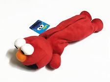 Elmo Red Plush Pencil Bag Pouch Case NWT Sesame Street / Full Body