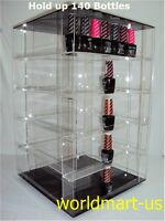 Rotatable Nail Polish Display Rack hold up 140 to 160 Bottles OPI, ESSIE Anysize