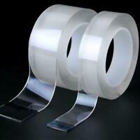 Magic doppelseitiges Grip Tape spurlos waschbares Klebeband Gel unsichtbare N0V5