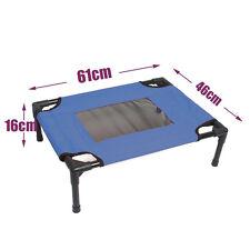 Heavy Duty Pet Dog Cat Bed Trampoline Hammock Cot Size Small 61x46x16cm AU