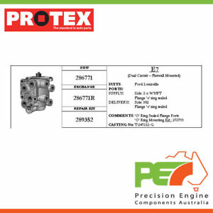 Brand New * PROTEX * Foot Valve For STERLING LT9500 . 2D Truck 6X4