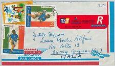 59631 -  ARGENTINA - POSTAL HISTORY: POSTMARK on  COVER  1995 - FOOTBALL