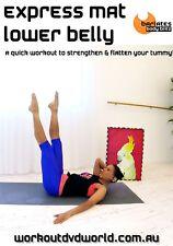 Pilates LOWER ABS WORKOUT DVD - Barlates Body Blitz EXPRESS MAT LOWER BELLY!