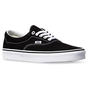 VANS MENS Shoes Authentic Size US 8 | Black / White