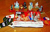 Ü Ei Star Wars Indien der Aufstieg Skywalkers SE760 - SE767A alle BPZ