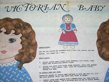 Victrorian Baby Doll Fabric Panel