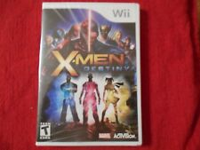 X-MEN DESTINY NINTENDO Wii FACTORY SEALED!!!  FREE FAST SHIP!!!  L@@K!!!!!