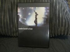 "DVD ""SADE : LOVERS LIVE"" concert"