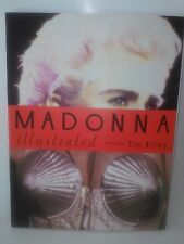 Madonna Illustrated Book by Tim Riley Like NEW 1992 In The 90s w/100+pix Ciccone