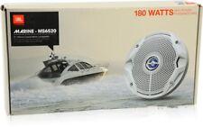 """JBL MS6520 180 Watt 6.5"""" 2-Way Water Resistant Marine Speakers Brand Brand New"""