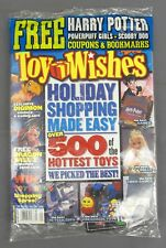 Toy Wishes Magazine Holiday 2000 500 Hottest Toys w/ Dragon Ball & Digimon Cards