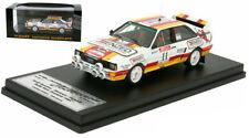 Trofeu Audi Quattro A2 #11 New Zealand Rally 1985 - Malcolm Stewart 1/43 Scale