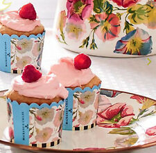 MacKenzie-Childs Morning Glory Cupcake Cups-Set of 24