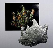 Zinnfigur Flachfigur Fantasy Der Zauberlehrling Gesamthöhe 75mm Flat Figure