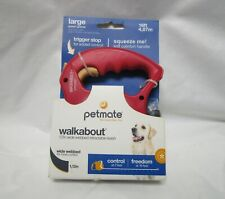 NEW - PETMATE Walkabout Trigger Stop Leash 1/2in Wide Large