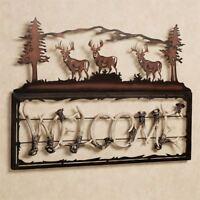 Welcome Sign Plaque Deer Antler Theme Door Rustic Decor Wall Art