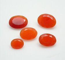 25.80CTW Mixed Parcel Carnelian - Oval - Carnelian Mixed MM Parcel Gemstones