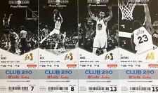 2018 - 2019 Golden State Warriors Ticket Stubs - Mint Condition!!!