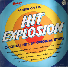 VA Hit Explosion - NEW SEALED 1977 LP Record Diana Ross Barry Manilow RONCO 2130