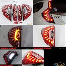 Colin Mbro Jp 14 15 16 Honda Fit Jazz Led Strip Tube Tail Light Lamp Set Cr