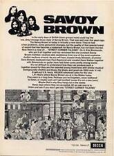 Savoy Brown Street Corner Talking LP advert Time Out cutting 1971