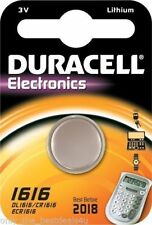 Duracell Lithium-Based CR1616 Single Use Batteries
