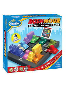 ThinkFun Rush Hour Traffic Jam Logic Puzzle (44005000)