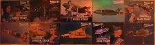 THUNDERBIRDS 50TH ANNIVERSARY: CHASE CARDS: MIRROR FOIL CARD SET - ALL 10 CARDS!