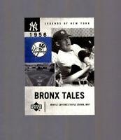2001 Upper Deck Legends of New York Mickey Mantle #131 HOF New York Yankees