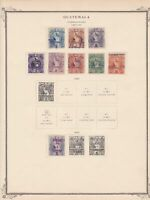 guatemala stamps page ref 17207