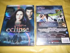 DVD-ECLIPSE-EDIZIONE SPECIALE 2 DISCHI-THE TWILIGHT SAGA-CON SOVRACOPERTINA-2010