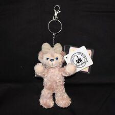 "Genuine Disney ShellieMay The Disney Bear Plush Toy 6"" Key Chain with tag"