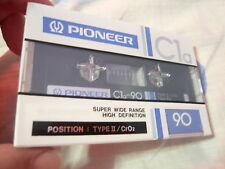 cassette tape rare  Pioneer C1a 90 position chrome new and sealed ORIGINAL