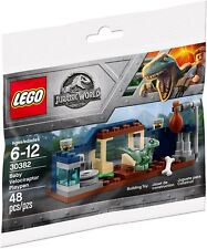 💎 LEGO 30382 - Jurrasic World Baby Velociraptor Playpen 💎
