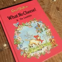 What No Cheese & The Lambikin, Enid Blyton 1985 Illustrated Rene Cloke Hardcover
