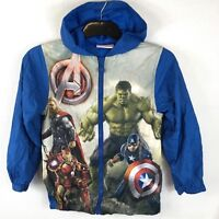 Official Avengers Rain Cover Proof Mac Jacket Kids Junior 11 - 12 Yrs S142-26